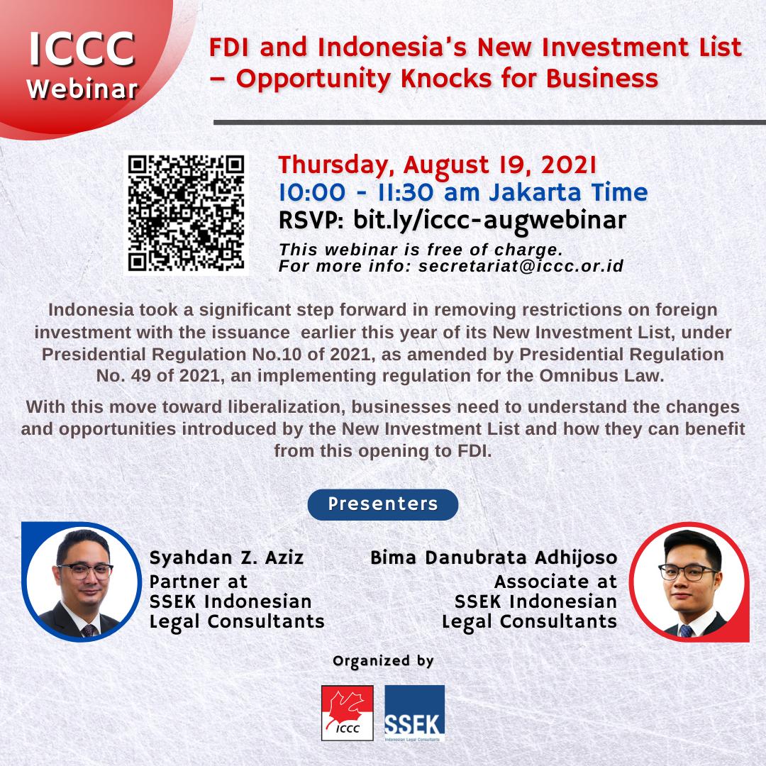 SSEK ICCC Webinar Aug 2021 - Flyer