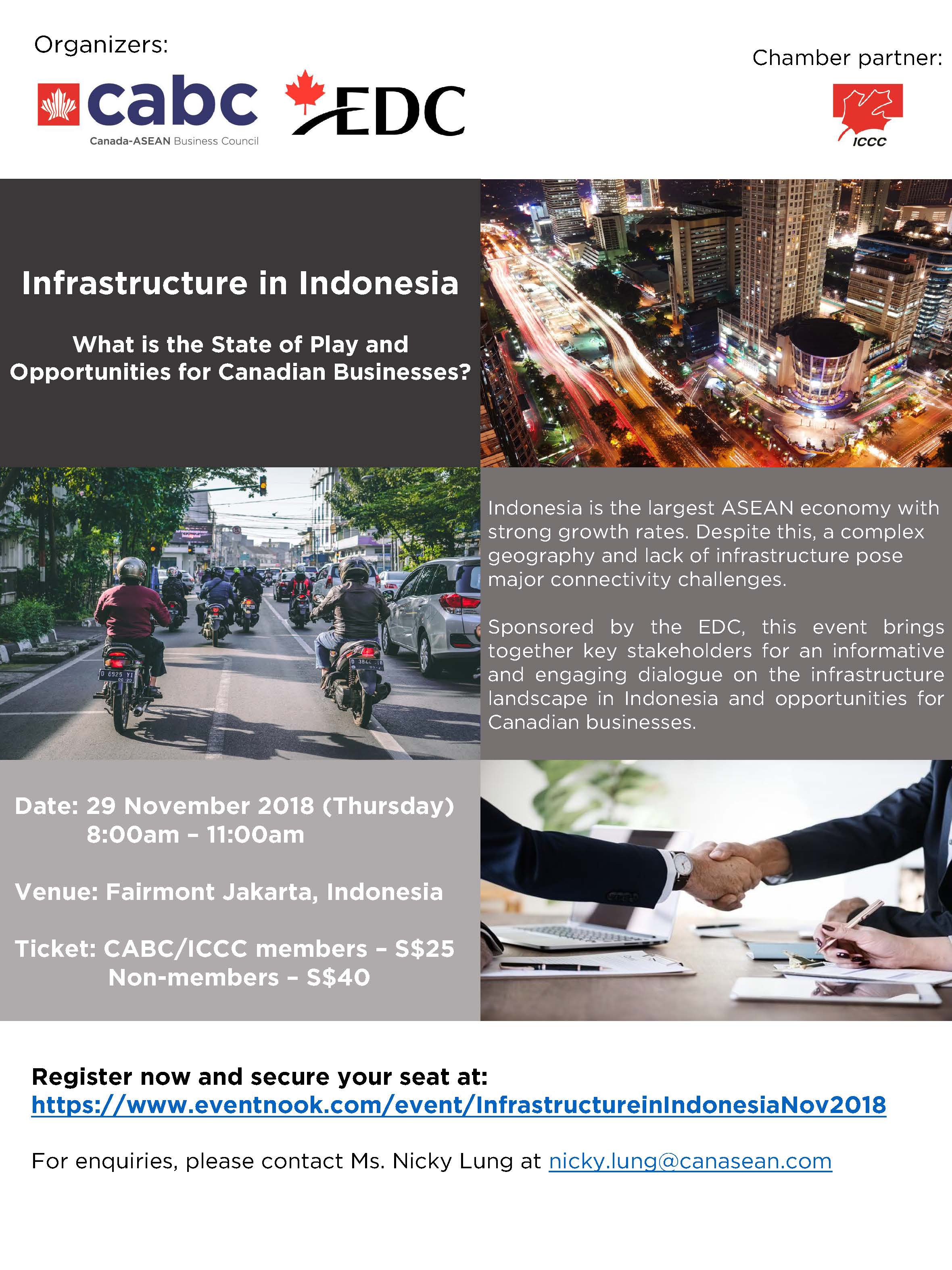 Infrastructure in Indonesia - Event Invite